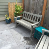 New back yard-seating