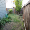 The previous side yard