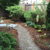 New back yard-path